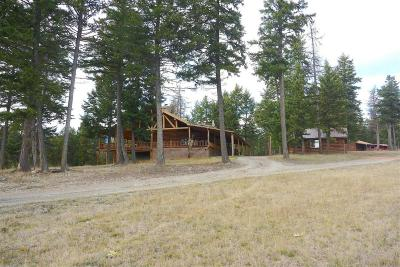 Lincoln County Single Family Home For Sale: 1500 Rocky Mountain Trail