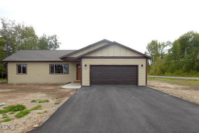 Kalispell Single Family Home Under Contract Taking Back-Up : 512 Scenic River Way