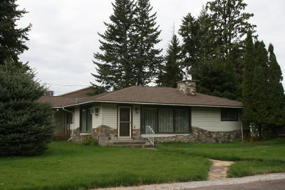 Columbia Falls, Hungry Horse, Martin City, Coram Single Family Home Under Contract Taking Back-Up : 234 1st Avenue East