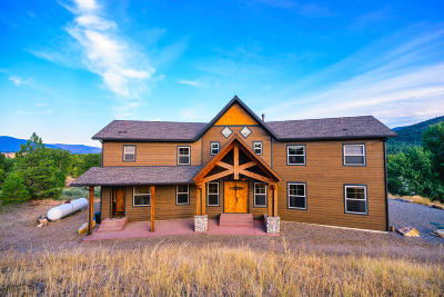 Missoula County Single Family Home For Sale: 16561 Clark Bluff Drive