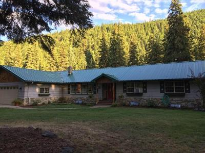 Thompson Falls Single Family Home For Sale: 553 Prospect Creek Road
