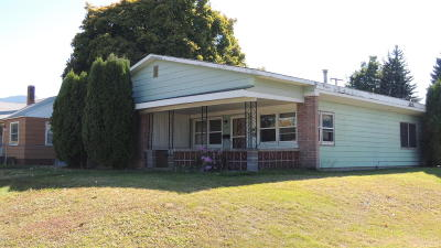 Missoula Single Family Home Under Contract Taking Back-Up : 1547 South 9th Street West