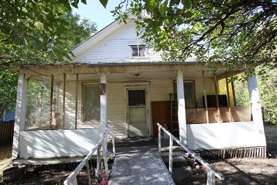 Sanders County Single Family Home Under Contract Taking Back-Up : 413 Central Avenue