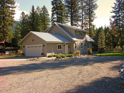 Thompson Falls Single Family Home For Sale: 21 Craws Nest Loop