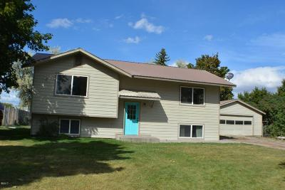 Kalispell Single Family Home Under Contract Taking Back-Up : 1766 Bison Drive