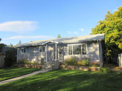 Missoula Single Family Home Under Contract Taking Back-Up : 726 Poplar Street