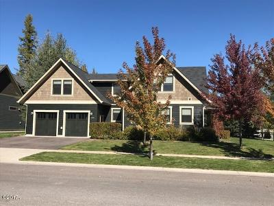 Flathead County Single Family Home Under Contract Taking Back-Up : 1060 Creekwood Drive