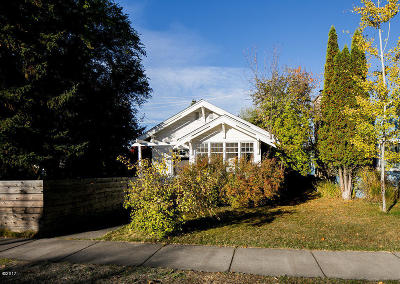 Whitefish Single Family Home Under Contract Taking Back-Up : 642 Columbia Avenue