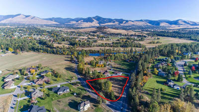 Missoula County Residential Lots & Land For Sale: 2327 Blue Mountain Road