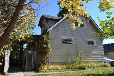 Whitefish Single Family Home For Sale: 937 Kalispell Avenue