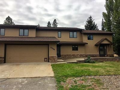 Kalispell Single Family Home Under Contract Taking Back-Up : 2986 Rufenach Lane