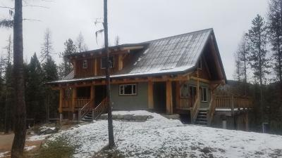 Whitefish Single Family Home Under Contract Taking Back-Up : 190 Cliff Creek Road