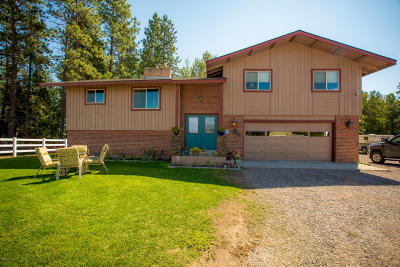Flathead County Single Family Home For Sale: 1020 Conn Road