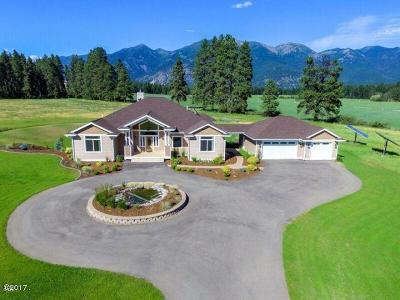 Kalispell Single Family Home Under Contract with Bump Claus: 31 Timberline Drive