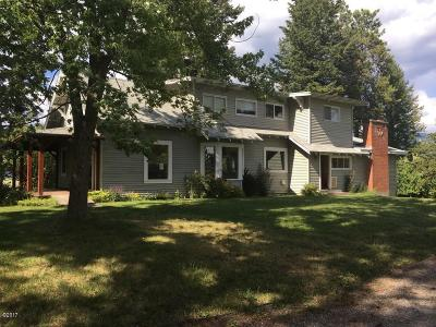Kalispell Single Family Home For Sale: 581 Riverside Road