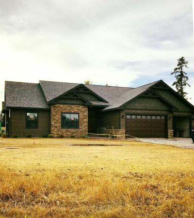 Flathead County Single Family Home For Sale: 160 Whispering Meadows Trail