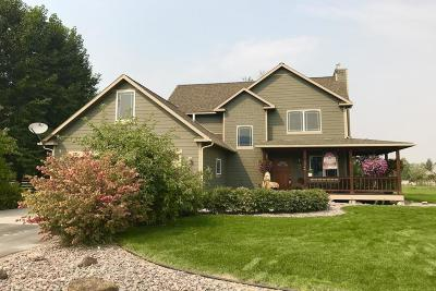 Missoula Single Family Home For Sale: 11744 Melody Lane