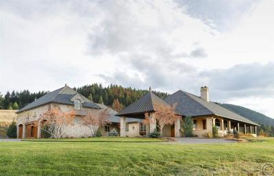 Missoula Single Family Home For Sale: 2761 Contour Road