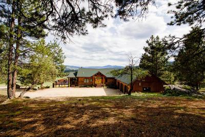 Darby Single Family Home For Sale: 564 Stags Leap Road