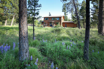 Seeley Lake Single Family Home For Sale: 691 Airport Road