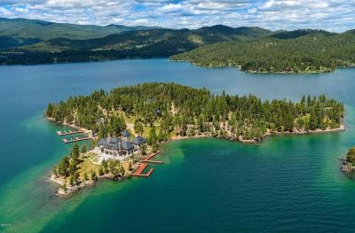 Lake County Single Family Home For Sale: Montana's Shelter Island