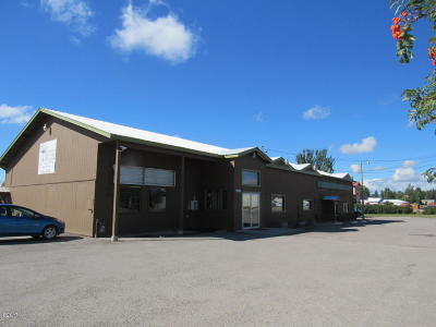 Columbia Falls Commercial For Sale: 1500 9th Street West