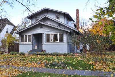 Missoula Single Family Home For Sale: 510 East Beckwith Avenue