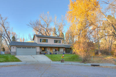 Missoula County Single Family Home For Sale: 10300 Lakewood Place