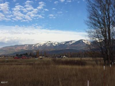 Whitefish MT Residential Lots & Land For Sale: $395,000