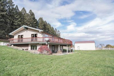 Flathead County Single Family Home For Sale: 435 White Basin Road