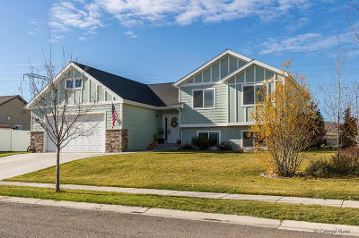 Kalispell Single Family Home Under Contract Taking Back-Up : 122 Oberlin Loop