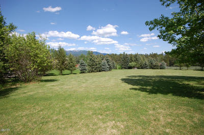 Whitefish Residential Lots & Land Under Contract Taking Back-Up : 310 Fairway Drive