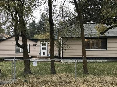Columbia Falls Single Family Home Under Contract Taking Back-Up : 129 Toftum Lane