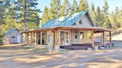 Flathead County Single Family Home For Sale: 1424 Bierney Creek Road