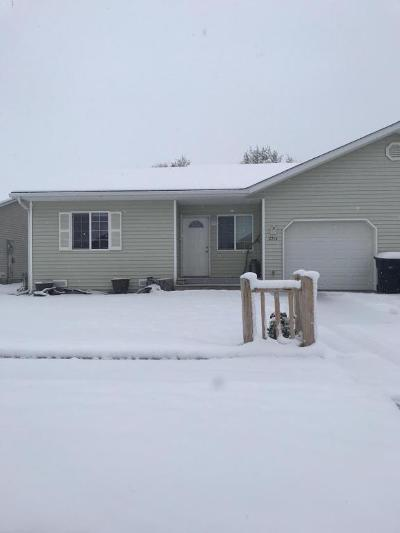 Kalispell Single Family Home Under Contract Taking Back-Up : 2214 Merganser Drive