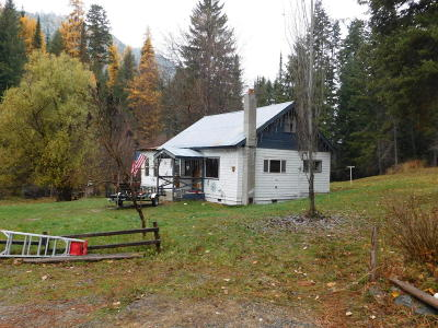 Thompson Falls Single Family Home Under Contract Taking Back-Up : 21 Clear Creek Road