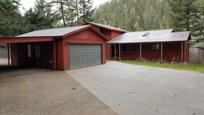 Single Family Home For Sale: 9650 O'brien Creek Road