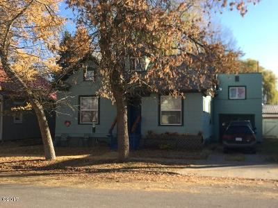 Whitefish Multi Family Home Under Contract Taking Back-Up : 315 Kalispell Avenue