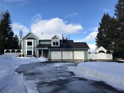 Flathead County Single Family Home Under Contract Taking Back-Up : 225 Newsom Lane