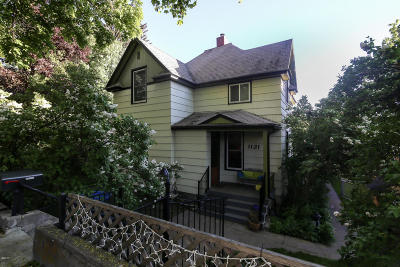 Missoula Single Family Home Under Contract Taking Back-Up : 1121 Poplar Street