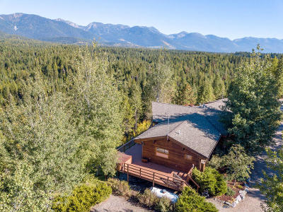 Flathead County Single Family Home Under Contract Taking Back-Up : 320 North Wakewood Drive