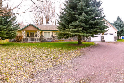 Missoula Single Family Home For Sale: 10095 Equestrian Way