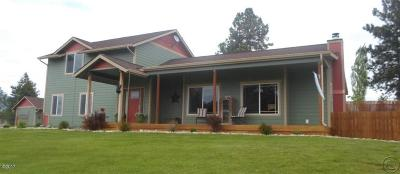Ravalli County Single Family Home For Sale: 451 Hidden Valley Road North
