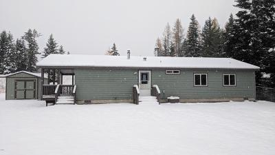 Kalispell Single Family Home Under Contract Taking Back-Up : 82 Rockwood Road