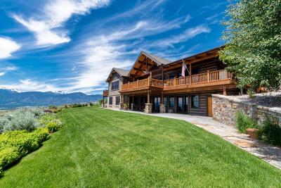 Alberton, Bonner, Clinton, Florence, Frenchtown, Greenough, Huson, Lolo, Missoula, Potomac Single Family Home For Sale: 2062 Hawks Peak Drive