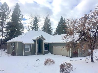 Flathead County Single Family Home Under Contract Taking Back-Up : 1490 Riparian Drive