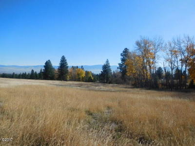 Ravalli County Residential Lots & Land For Sale: Nhn Steller Way