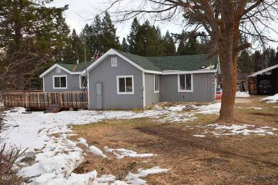 Lincoln County Single Family Home For Sale: 2387 Trego Road