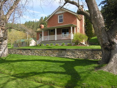 Missoula Single Family Home For Sale: 5185 Old Marshall Grade Road