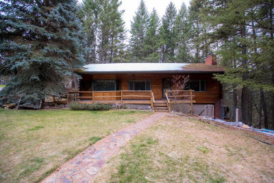 Flathead County Single Family Home For Sale: 66 Plummers Lake Drive